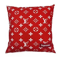 Louis Vuitton Supreme red monogram box cushion LV SUP
