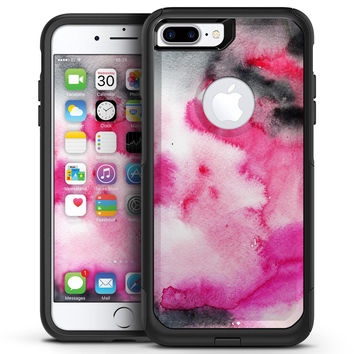 Pink All Over Pattern Of Luxury - iPhone 7 or 7 Plus Commuter Case Skin Kit