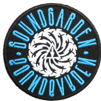 "SOUNDGARDEN Badmotorfinger Iron On Embroidered Patch 2.9""/7.5cm"