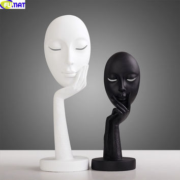 Nordic Resin Abstract Mask
