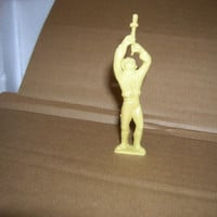 MARX 1950's SWORD SWALLOWER Super Circus Performer Figure mx728 Rubber