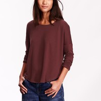 Old Navy Womens Oversized Drop Shoulder Tee