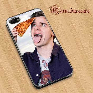 Connor Franta funny face  custom case for all phone case
