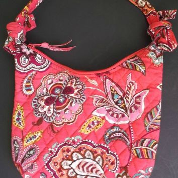 Retired Vera Bradley Call Me Coral Purse Handbag Discontinued