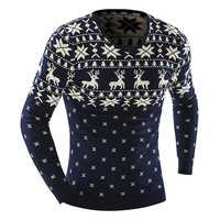 Mens Winter Pullover Sweater