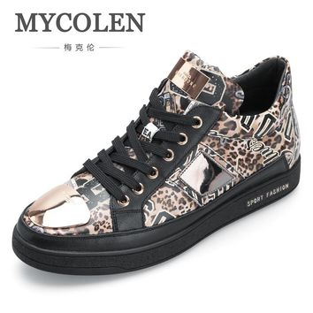 MYCOLEN New Arrivals British High-Top Casual Men Shoes All-Match Autumn Leisure Men'S Shoes Brand Classic Sneakers Zapato Hombre