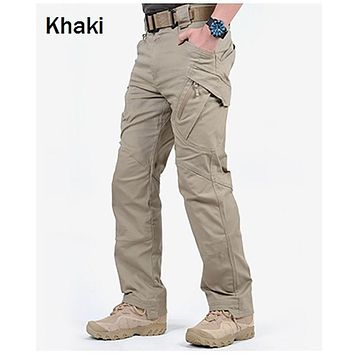 Brand ChoynSunday Tactical Cargo Pants Men Combat Army Military Pants Multi Pockets Stretch Flexible Man Casual Trousers