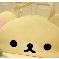 Rilakkuma easily bear travelling bag Christmas gift NEW year presents 1pcs resell lowest price