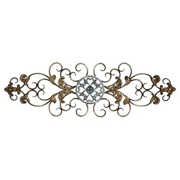 Traditional Scroll Wall Decor By Stratton Home Decor