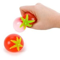 TOMATO SPLATTER WATER BALL - Stress Relief - (1 DOZEN) 12 Pieces