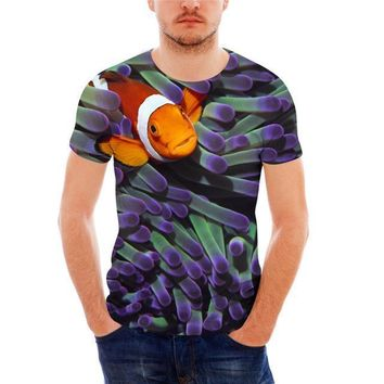 Purple Ocean Nemo Grass T-Shirt