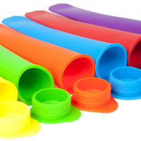 Silicone Popsicle Molds (Set of 6)