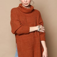 Free People Eleven Sweater - Cocoa
