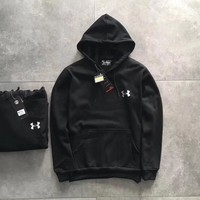 Under Armour Woman Men Fashion Long Sleeve Hooded Cardigan Jacket Coat