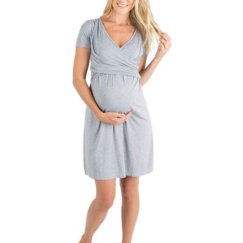 Lucy Ultra Soft Maternity & Nursing Nightgown