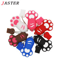 JASTER cartoon claw model usb 2.0 memory stick Cute Mini usb flash drive pen drive pendrive 4GB 8GB 16GB 32GB