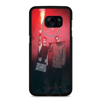 Twenty One Pilots Josh And Tyler 3 Samsung Galaxy S7 Edge Case