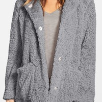 Kenneth Cole New York | Teddy Bear Faux Fur Hooded Coat | Nordstrom Rack