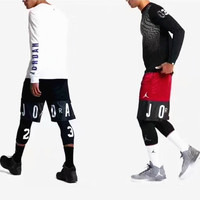 Jordan SPlicing Print Sport Casual Contracted Shorts 4 Color G-A-XYCL