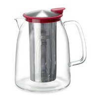 68 Ounce Glass Iced Tea Pitcher (Jug) - Serve Hot or Cold