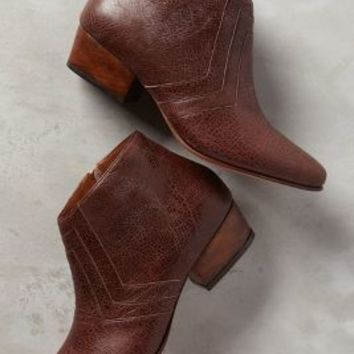 Luiza Perea Londrina Booties in Brown Size: