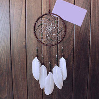 Beauty Dream Catcher Feather Wall Car Home Hanging Decoration Ornament Gift