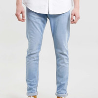 BRIGHT BLEACHED WASHED Stretch SKINNY JEANS - TOPMAN USA