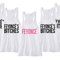 Feyonce's Bitches Tanks - Set of 5