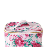 Rose Print Cosmetic Bag