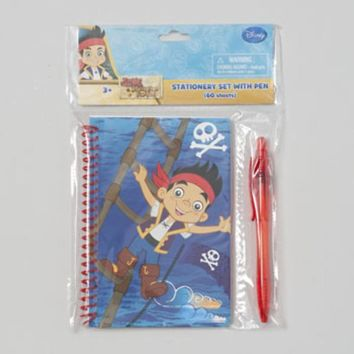 Stationary Set Jake and the Neverland Pirates Notebook and Pen - CASE OF 48