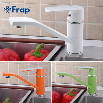 Modern Kitchen Sink Faucet Mixer Cold Hot Kitchen Tap Single Hole Water Tap Torneira Cozinha Rotate 360 Degrees F4531