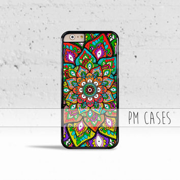 Mehndi Pattern Case Cover for Apple iPhone 4 4s 5 5s 5c 6 6s Plus & iPod Touch