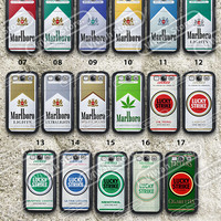 Cigarettes Box Samsung Galaxy S3 S4 Case, Cigarettes Packaging S3 S4  Hard Cases Rubber Case, Cover Skin samsung s3 s4 Case