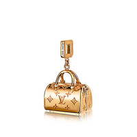 Products by Louis Vuitton: Speedy Empreinte Charm in Yellow Gold