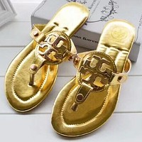 Trendsetter Tory Burch Women Casual Fashion Sandal Slipper Shoes