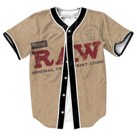 """""""Raw Papers"""" 3D Baseball Jersey"""