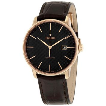 Rado Coupole Classic  Automatic Black Dial Mens Watch R22877165