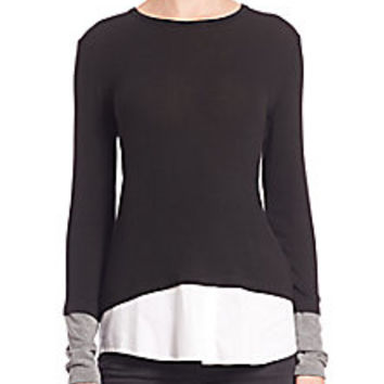 Bailey 44 - Keaton Layered Top - Saks Fifth Avenue Mobile
