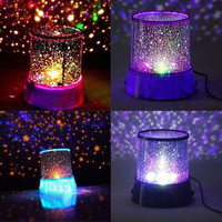 Romantic Pink Amazing Star Sky Universal Night Light