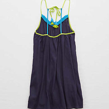 Aerie Tassel Dress, Fresh Bright