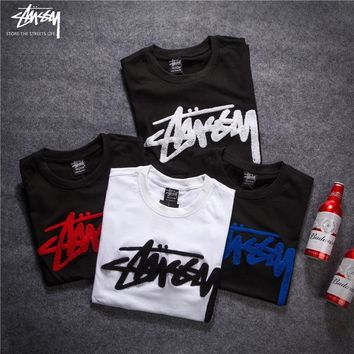 2018 Stussy Women Men Fashion Casual Shirt Top Tee-2