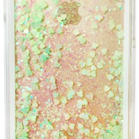 GLITTER HOLOGRAM 5 WATERFALL IPHONE CASE