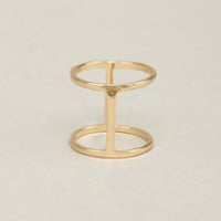 Suspicious Shines Gold Knuckle Ring