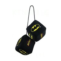Officially Licensed DC Comics Polyester Auto Dice Rear View Mirror Ornament - Batman