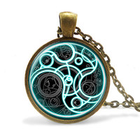 Steampunk Doctor Who Pendant