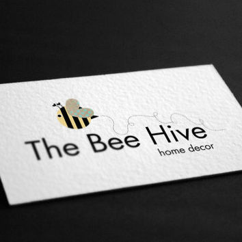 Pre-Made Bumble Bee Home Decor Party Events Planning Accessories Photography Jewelry Any Business Shop Logo