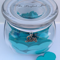 Love Gift Jar for personalized messages, Anniversary Gift, Sentimental gift for wife, fiance, fiancee, Romantic Gift