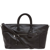 Marc Jacobs Black Tony Weekender Leather Bag | Menswear | Liberty.co.uk