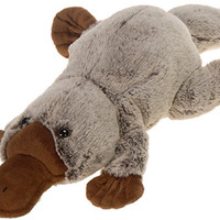 "21"" marshmallow platypus with picture hangtag Case of 12"