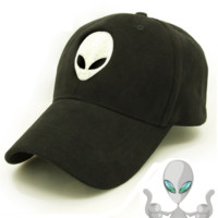 Aliens Outstar Saucer Space E.T UFO Fans Black Fabric Baseball embroidered cap